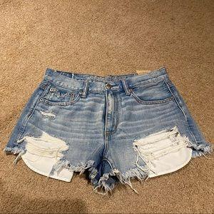 Vintage Hi-Rise Jean Shorts
